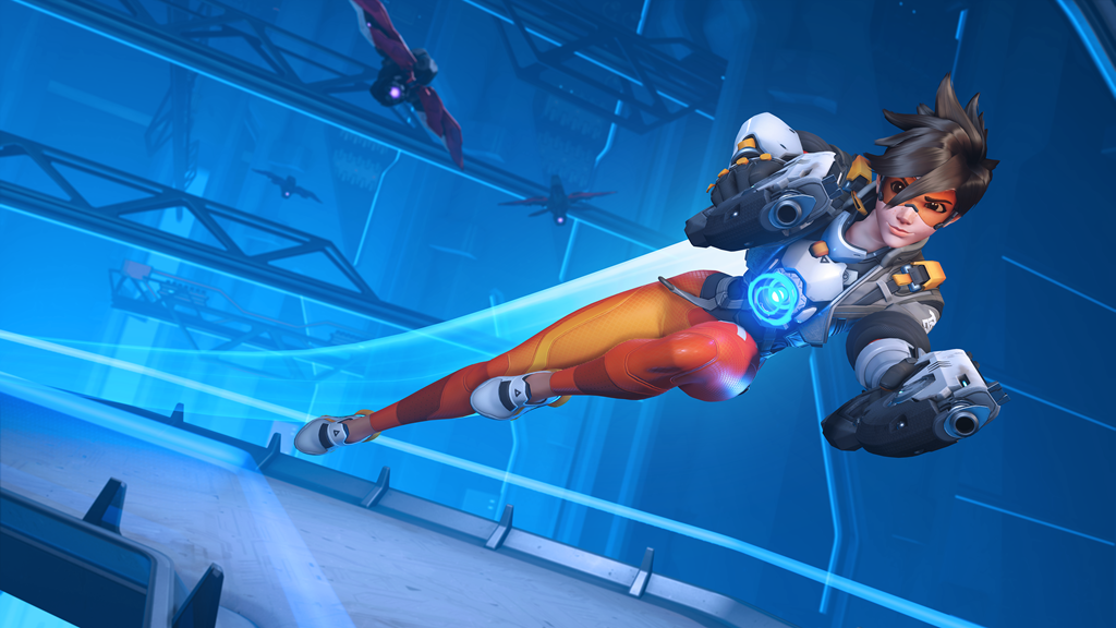 Tracer lampeggia in Overwatch 2