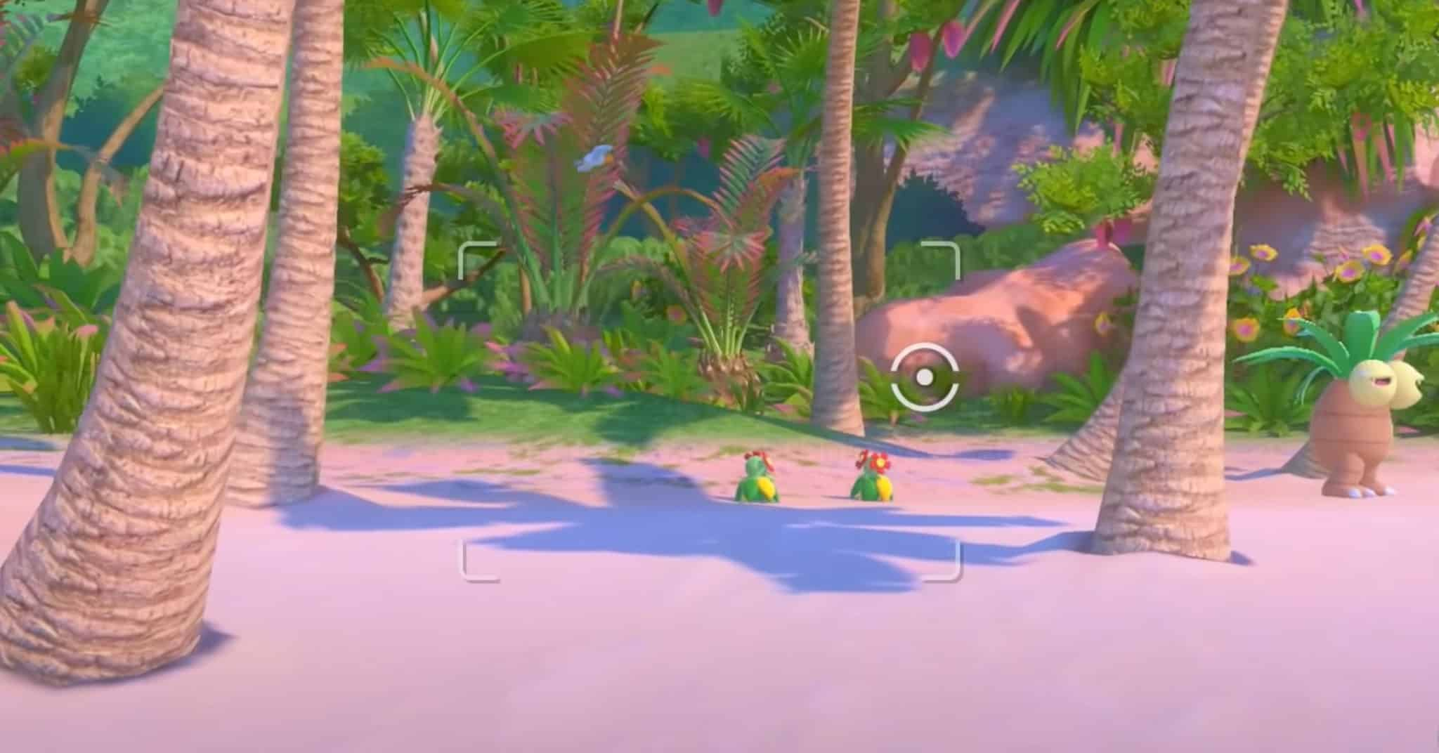 nuovo pokemon snap beach
