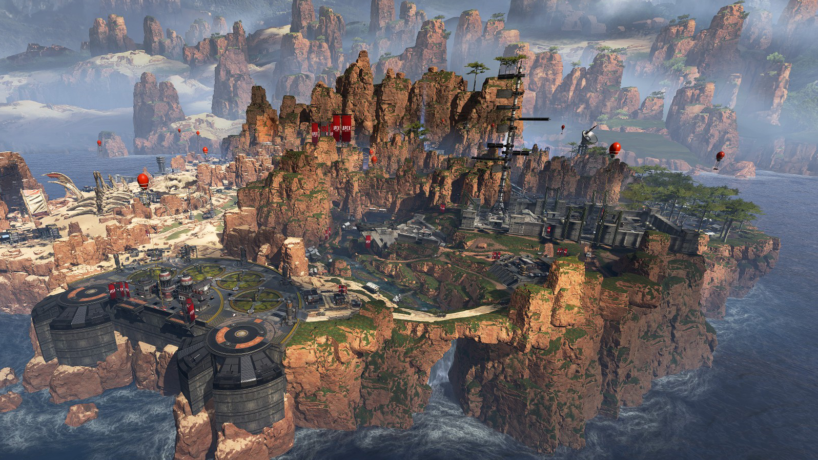 Mappa di Apex Legends Kings Canyon