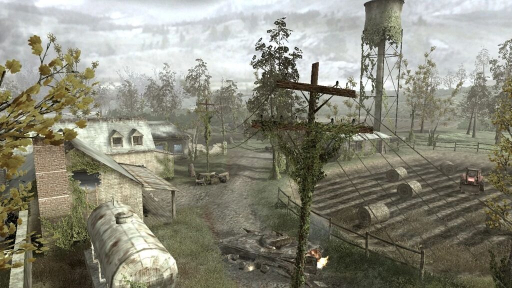 call of duty sniping overgrown