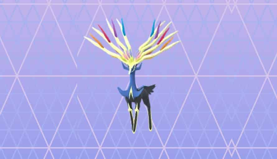 Sfondo di Xerneas Pokemon Go Dex