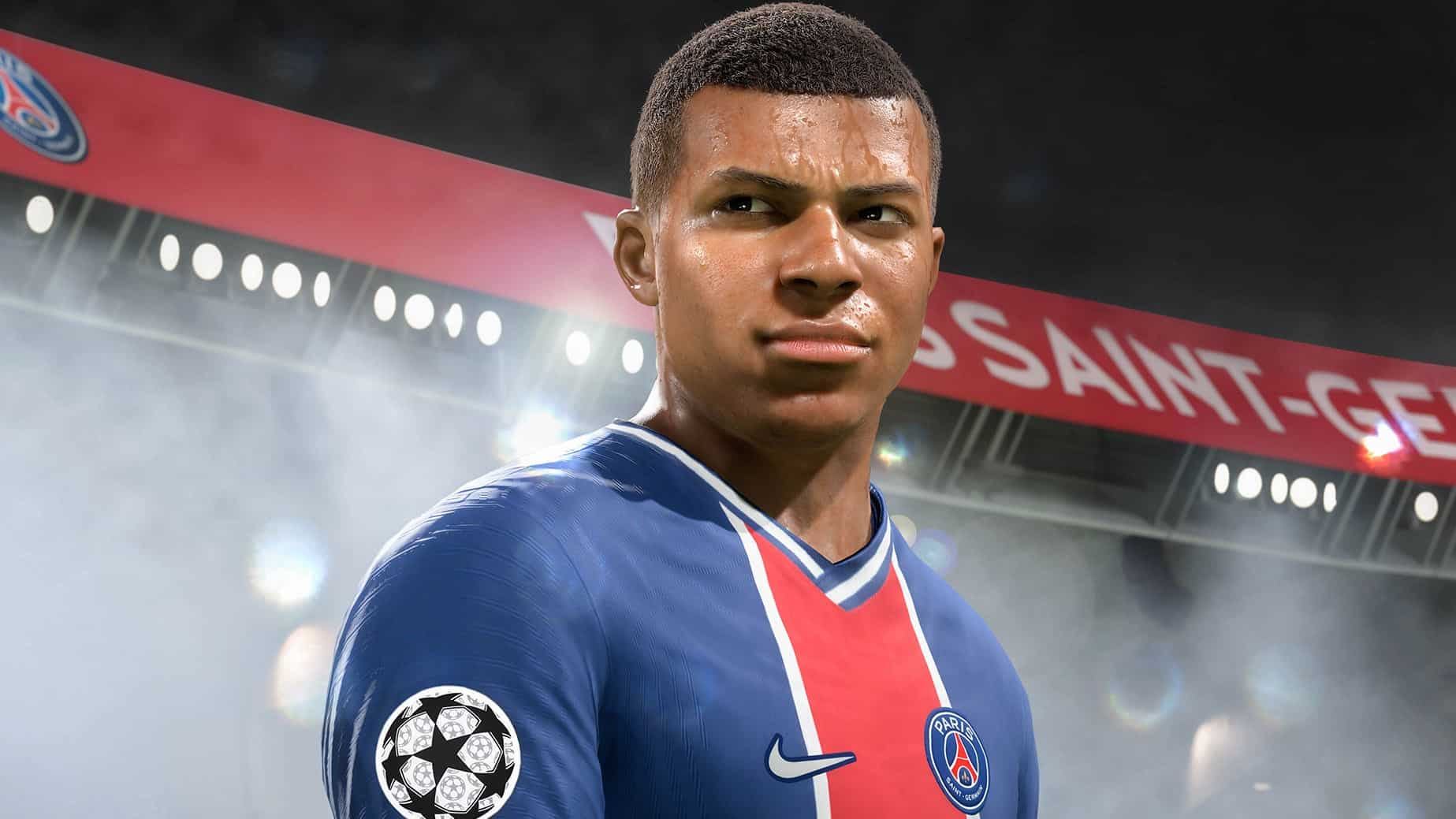 Mbappe pace FIFA 22