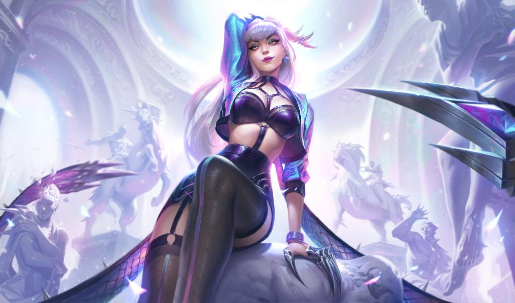 KDA All Out Evelynn in League of Legends